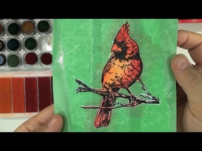 Local King Rubber Stamp Tutorial #57 How to create art masking type
