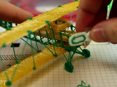 Make an Airplane with 3D Pen - How to Make an Airplane