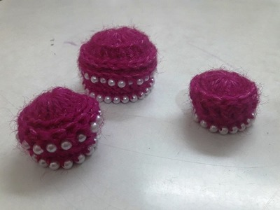 Make easy Crochet Cap for Bal Gopal in any size with Pearls