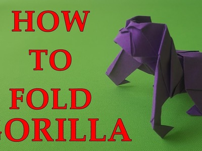 Origami Gorilla (How to make)
