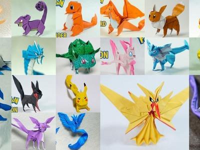 Origami Pokemon Compilation - All Pokemon Timelapse by Henry Pham & Paper PH2