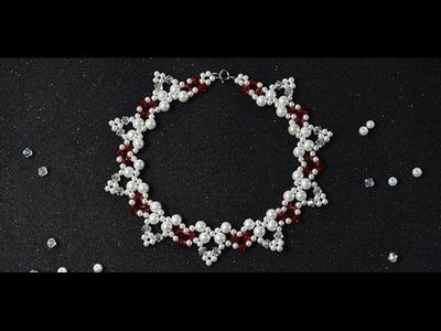 Pandahall Tutorial on How to Make Handmade Flower Beaded Choker Necklace