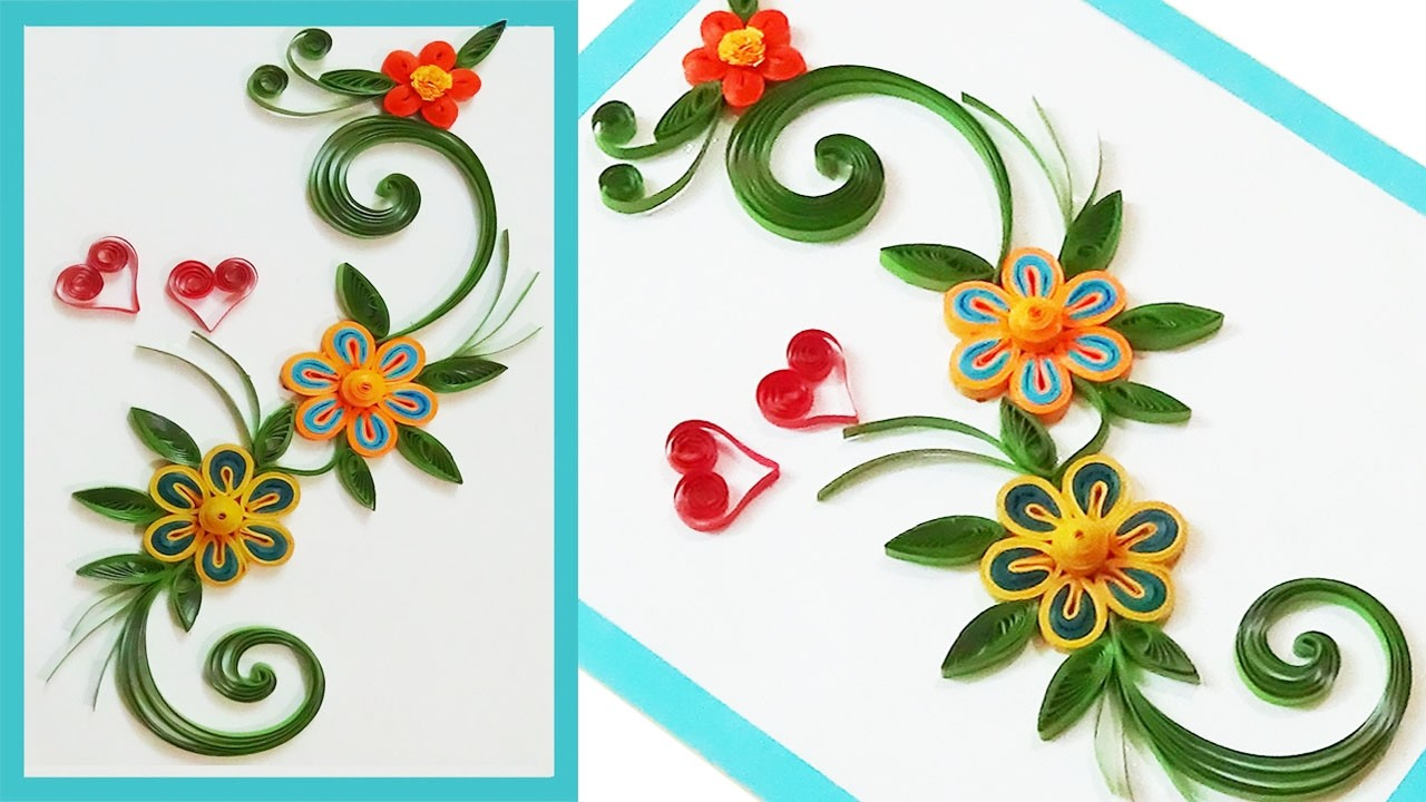 paper quilling greeting cards for beginners rh mycrafts com