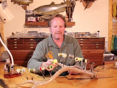 Slide Inn Tying Tips- How to Make your own Antler Bobbin Holder with Kelly Galloup