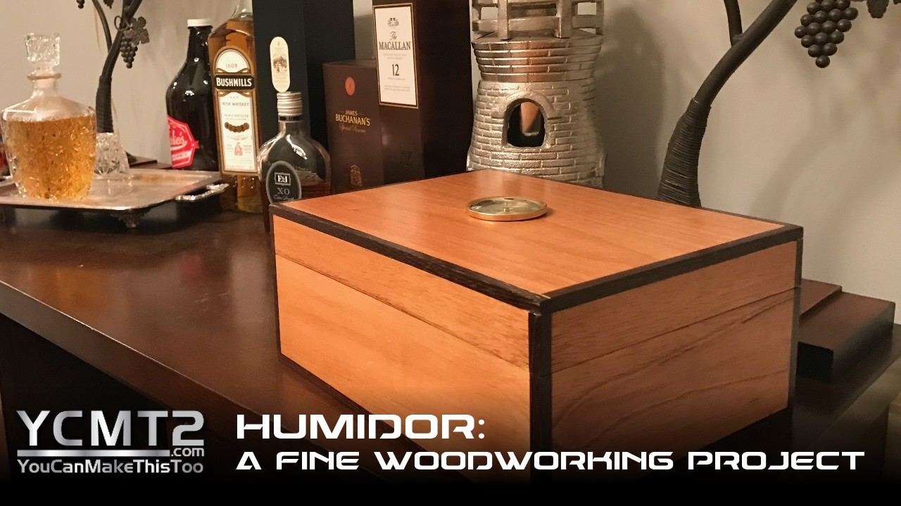 Spanish Cedar Humidor: A Fine Woodworking Project. How to
