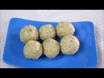मुंगफल्ली और गुड के लड्डू.How to make Peanut Ladoo Recipe. Shengdaane ladu