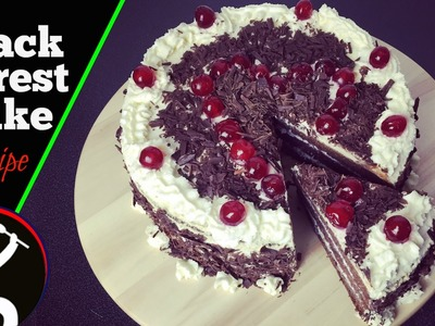 Valentine's Day Special | Black Forest Cake Recipe | How to make Black Forest Cake