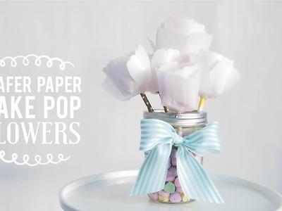 Wafer Paper Cake Pop Flowers | DIY Valentine's Gift | Greggy Soriano