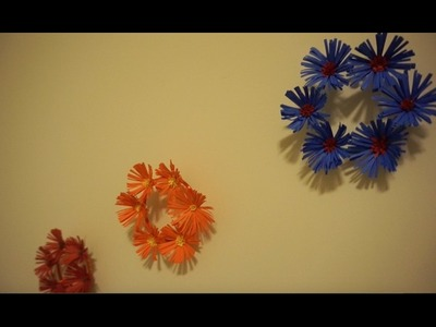 Wall Decor with Paper Flower and Bangles