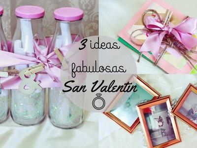 3 FABULOSAS IDEAS PARA SORPRENDER | SAN VALENTIN 2017 | DIY