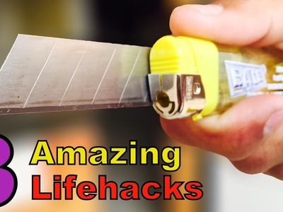 3 SIMPLE LIFE HACKS. DIY You should Know