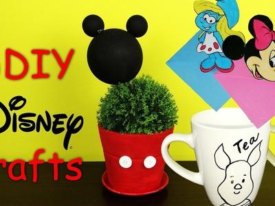 8 DIY Disney Crafts HOW TO! 2017