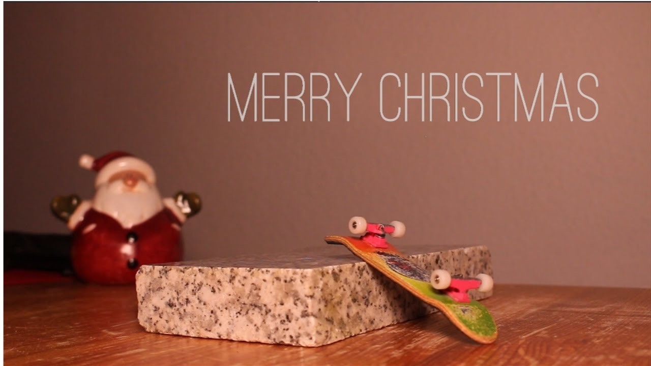 A CHRISTMAS FINGERBOARD VIDEO