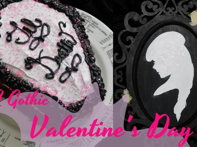 A Gothic Valentines Day | DIY: Gifts and Treats | Ghostly Haunts