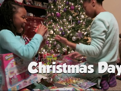 Christmas Day | Making Hashbrown, Ham and Cheese Casserole ▸ Christmas 2016