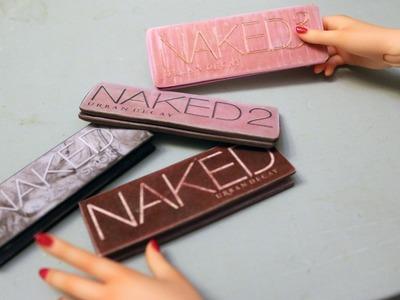 DIY BJD Miniature Naked Palette tutorial