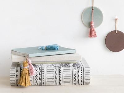 DIY: Book tassel by Søstrene Grene