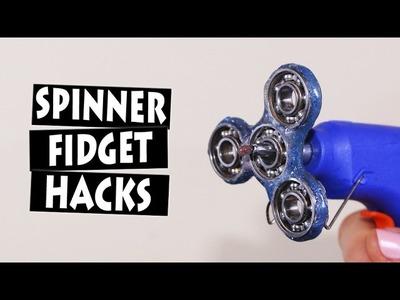 DIY Hand Spinner Fidget Toy LIFE HACKS