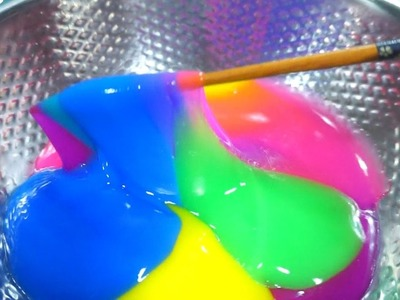 DIY How to make Clay Slime MIX 20 Slime Clay Learn Colors Surprise Toys