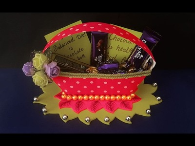 DIY Paper Gift Bag Tutorial | Easy Paper Basket Making at Home | Gift Basket Ideas