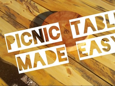 DIY Picnic Table Made Easy - Timber on Steel