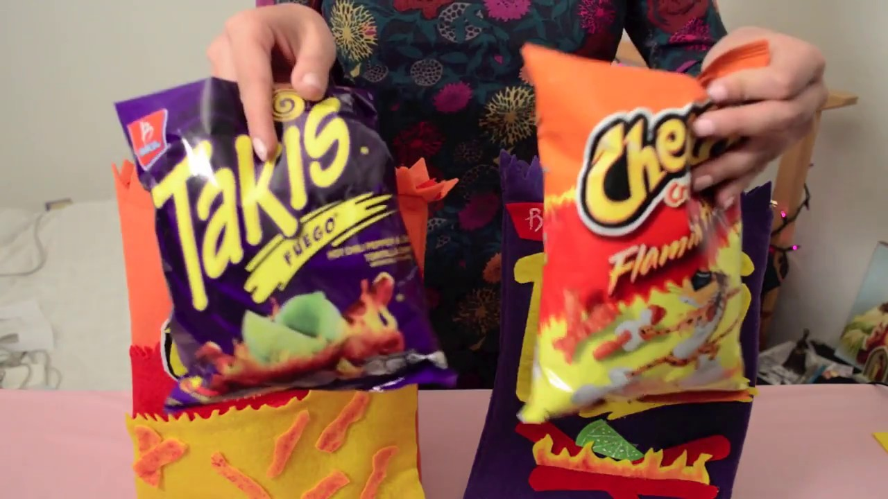 DIY. Takis & Hot Cheetos zipper cases