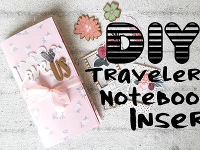 DIY Traveler's Notebook insert. Mini Album- Hip Kit Club January 2017