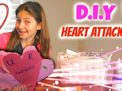 "DIY Valentines and ""Heart Attacking""!"