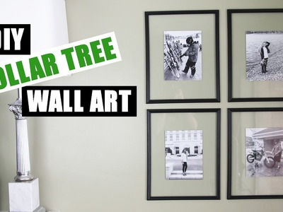 DOLLAR TREE DIY Floating Frame Art   Dollar Store DIY Gallery Wall Art   Cheap DIY Wall Art Decor