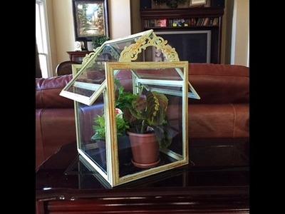 Dollar Tree DIY Terrarium.Green House: What, Dollar Tree?  Do-It-Yourself FUN!