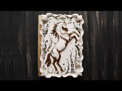 """Easy Polymer Clay """"Marshmallow"""" Frame"""