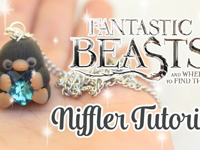 FANTASTIC BEASTS CUTE NIFFLER CHARM - Polymer Clay Tutorial
