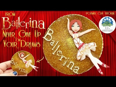 Félicie from Ballerina - Ballet Dancer Doll Tutorial - Polymer Clay Tutorial