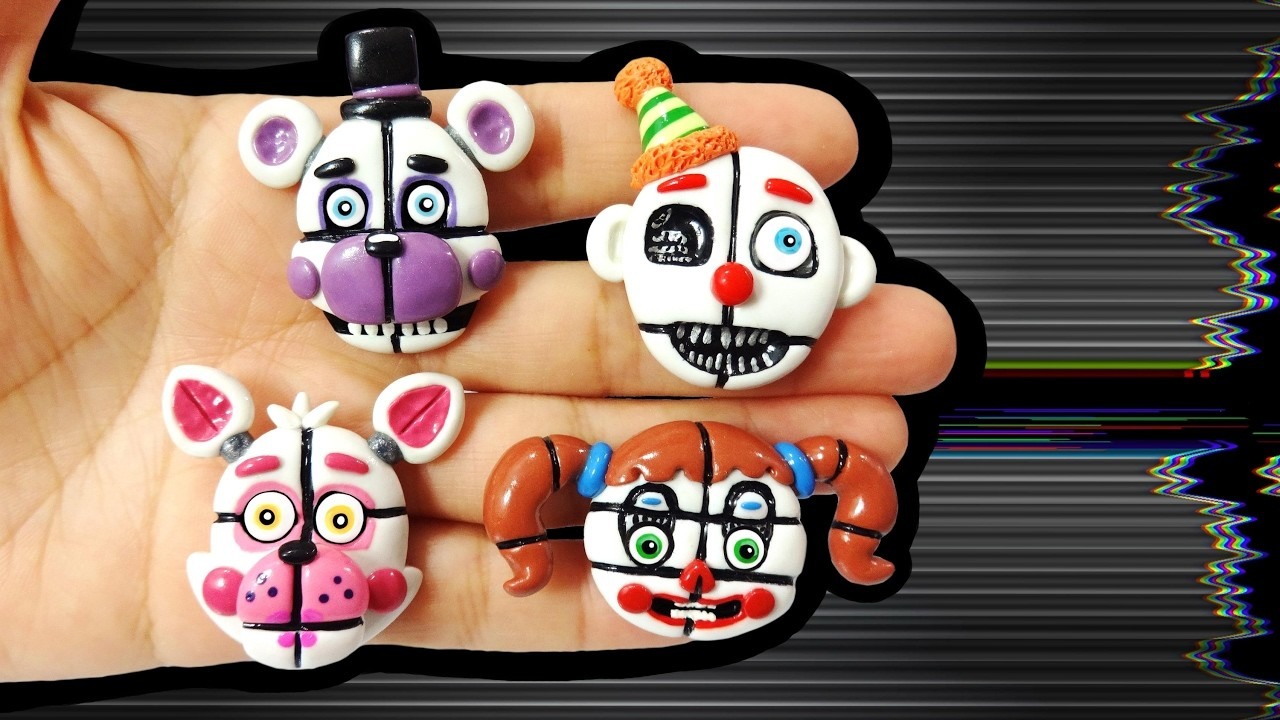 FNAF SISTER LOCATION! Polymer Clay Tutorial