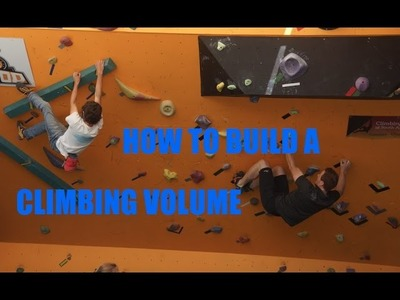 How To Build A SImple Climbing.Bouldering Volume- DIY Fun Box Gym and Training Equipment