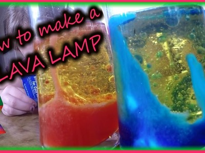 How to make a DIY lava lamp! science for kids