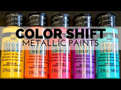 How to Paint with Color Shift Metallic Paint