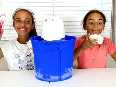 ICE CREAM MAKER! DIY Make Your Own Ice Cream SOPHIA SARAH Toys To See