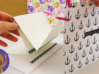 Infinity Letter | DIY Gift Ideas | Notepad Idea DIY