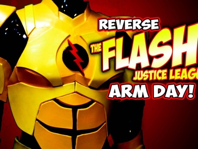 Justice League Flash Costume how to DiY Arm pt3