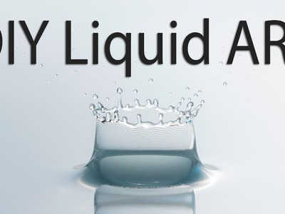 Low Budget (Easy) DIY Water Drop Photography - Liquid ART