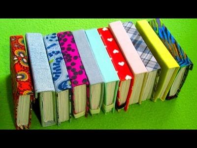 MINI NOTEBOOKS DIY \ 3 TYPES OF NOTEBOOKS \ FULL TUTORIAL HOW TO MAKE \ IrinaLeft DIY