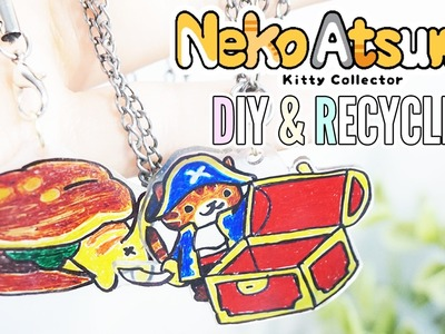 Neko Atsume DIY Plastic Charm ❖ Creative Recycle Experiment
