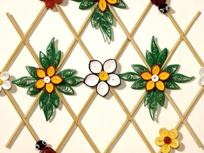 Paper Quilling DIY Wall Decor - Quilling Paper Hanging for DIY Room Decor