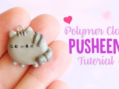 Simple Pusheen (Flat Back)│Polymer Clay Tutorial