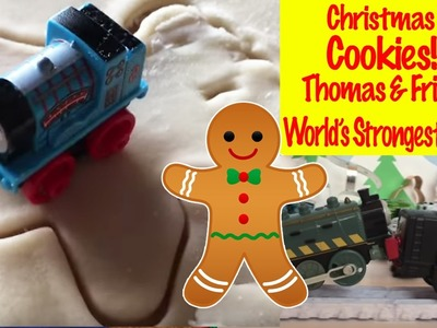 Thomas & Friends Christmas Cookies - World's Strongest Engine Thomas the Tank Engine Kids Toys