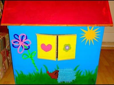Activity Playhouse Spielhaus selber machen -DIY