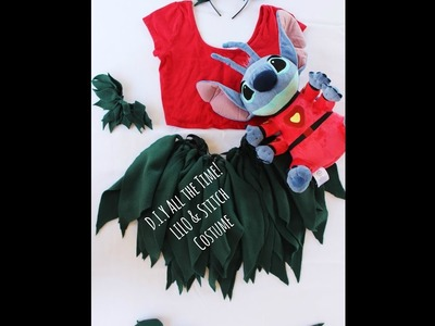 D.I.Y All the Time! Lilo & Stitch Costume REMAKE