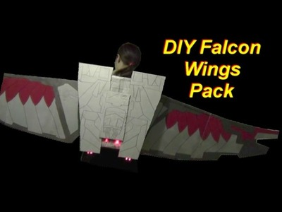 DIY Falcon Wings Part 2: The Pack