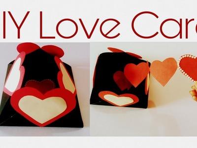DIY Love Card | Gift Ideas | Handmade Card with Hearts❤❤